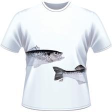 Apparel Ultimate Fishing TEE SHIRT MANCHES COURTES HOMME BAR BLANC XL - BLANC