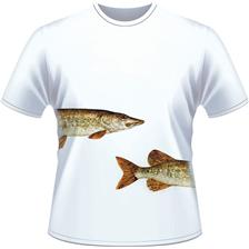 Apparel Ultimate Fishing TEE SHIRT MANCHES COURTES HOMME BROCHET NOIR XXL