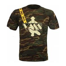 TEE SHIRT MANCHES COURTES HOMME VASS CLASSIC PRINTED CAMOUFLAGE YELLOW - CAMOU