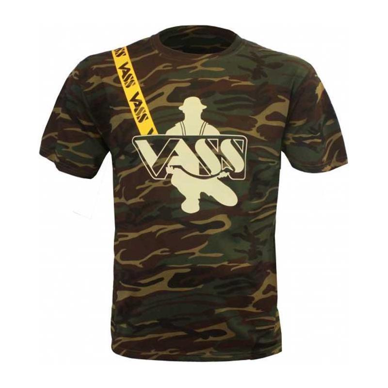 Fox Raglan Kaki//Camouflage à manches courtes T-shirt//Pêche à La Carpe Vêtements
