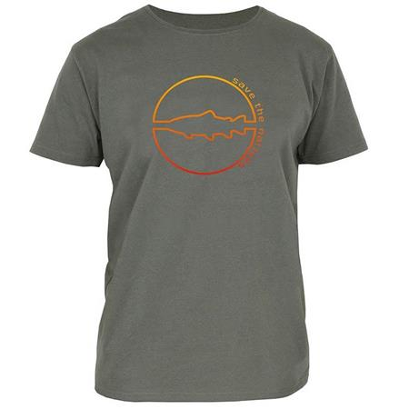 TEE SHIRT MANCHES COURTES HOMME VISION SAVE - OLIVE