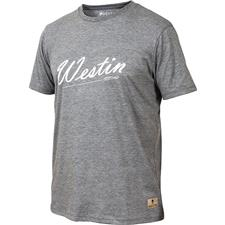 TEE SHIRT MANCHES COURTES HOMME WESTIN OLD SCHOOL T-SHIRT - GRIS