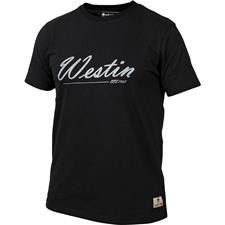 TEE SHIRT MANCHES COURTES HOMME WESTIN OLD SCHOOL T-SHIRT - NOIR