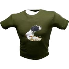TEE SHIRT MANCHES COURTES JUNIOR BARTAVEL POINTER - KAKI