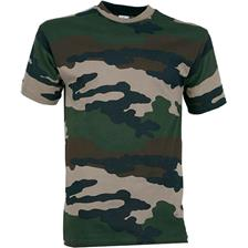 TEE SHIRT MANCHES COURTES JUNIOR PERCUSSION - CAMO