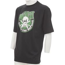 Apparel Mad Cat SKULL CLONKS TEE SHIRT MANCHES COURTES NOIR