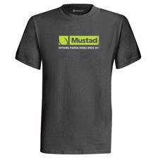 TEE SHIRT MANCHES COURTES MUSTAD MCTEE02 - GRIS