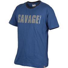 Apparel Savage Gear SIMPLY SAVAGE TEE BLEU