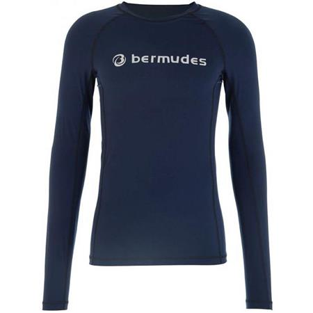 TEE SHIRT MANCHES LONGUES HOMME BERMUDES OLLY - MARINE
