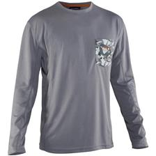 Apparel Grundéns FISH HEAD SHIRT GRIS XXL