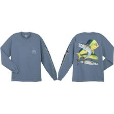 Habillement Guy Harvey DOLPH WAH KING BLEU TAILLE M