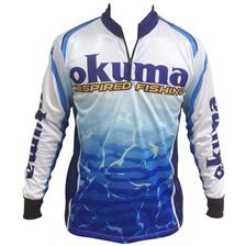 Habillement Okuma TOURNAMENT BLEU/BLANC XXL