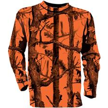 TEE SHIRT MANCHES LONGUES HOMME PERCUSSION FLUO GHOSTCAMO - CAMO