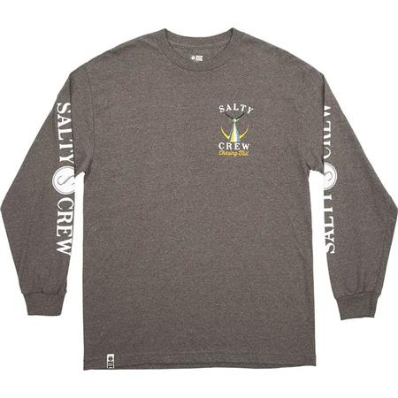 TEE SHIRT MANCHES LONGUES HOMME SALTY CREW TAILED L/S - GRIS