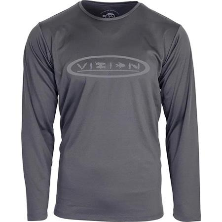 TEE SHIRT MANCHES LONGUES HOMME VISION BAMBOO LS SHIRT - GRIS
