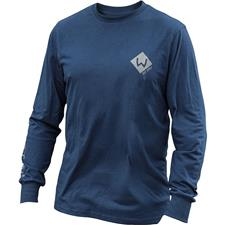 TEE SHIRT MANCHES LONGUES HOMME WESTIN PRO LONG SLEEVE - MARINE