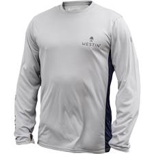 TEE SHIRT MANCHES LONGUES HOMME WESTIN PRO UPF LONG SLEEVE - GRIS
