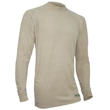 TEE SHIRT MANCHES LONGUES HOMME X-GO FLAME RETARDANT PHASE 1 - SABLE