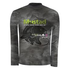 TEE SHIRT MANCHES LONGUES MUSTAD MCTS05 BBS CARPE - GRIS