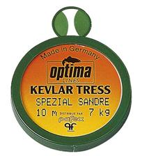 TERMINAL TACKLE BRAID PIKE PERCH OPTIMA KEVLAR TRESS