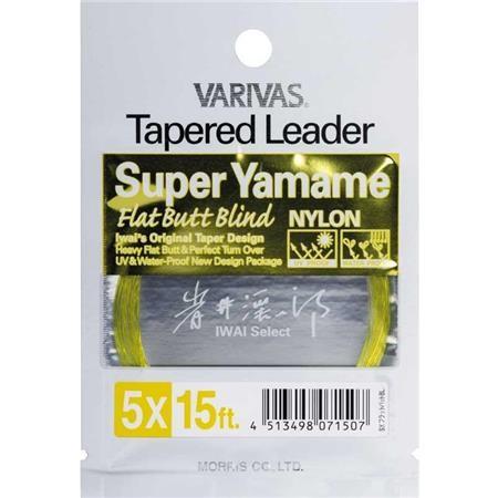 TERMINALE VARIVAS TAPERED LEADER NYLON SUPER YAMAME