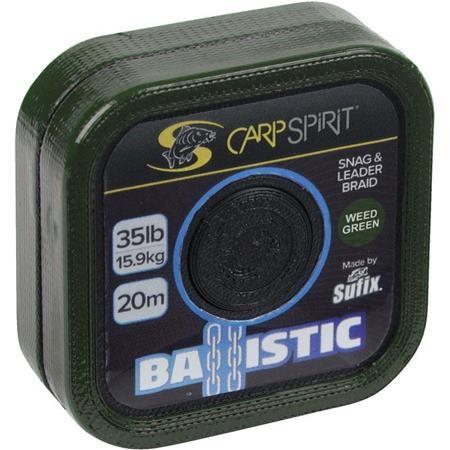 TETE DE LIGNE CARP SPIRIT BALLISTIC CAMO GREEN - 20M