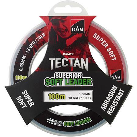 TETE DE LIGNE DAM DAMYL TECTAN SUPERIOR SOFT LEADER - 100M