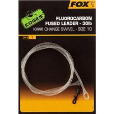 Lignes Fox EDGES FLUOROCARBON FUSED LEADERS CAC719
