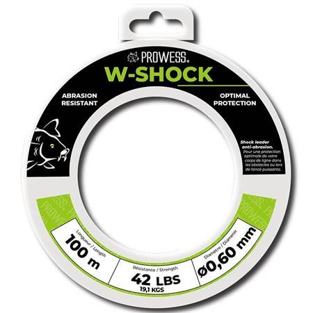 TETE DE LIGNE PROWESS W-SHOCK - 100M