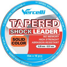 Leaders Vercelli TAPERED SHOCK LEADER ORANGE SOLIDE 15M 16/100 57/100 - 150M