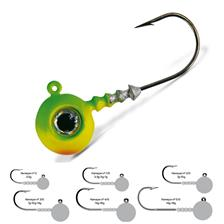 TETE PLOMBEE VMC BIG EYE - CHARTREUSE LIME GREEN - PAR 4