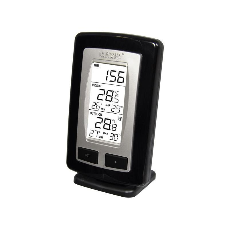 Thermometer station la crosse technology interieur for Thermometres exterieurs