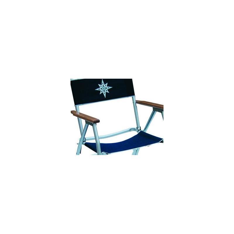 toile de remplacement euromarine pour chaise pliante. Black Bedroom Furniture Sets. Home Design Ideas
