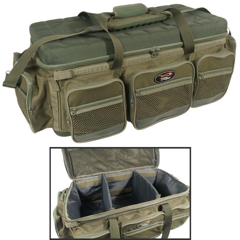 Total bag carryall fishing gear hardcore barrow bag for Rei fishing gear