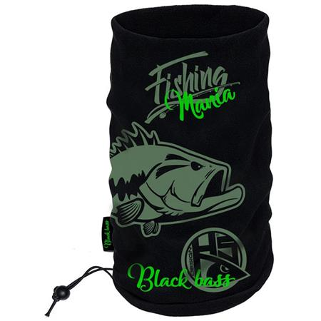 TOUR DE COU HOMME HOT SPOT DESIGN BLACK BASS MANIA - NOIR