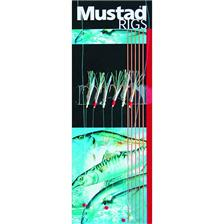 TRAIN DE PLUME MUSTAD BI-COLOR FISH SKIN