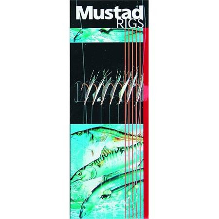 TRAIN DE PLUME MUSTAD FISH SKIN RIG