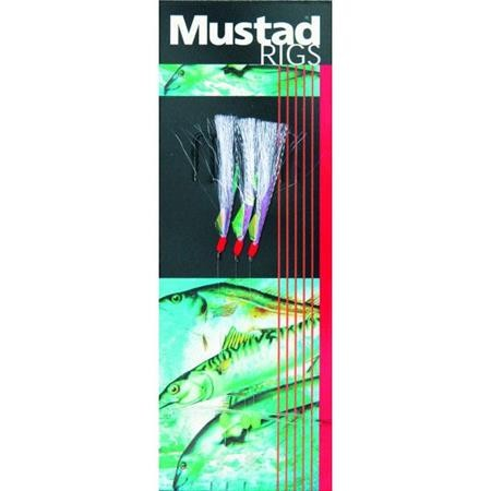 TRAIN DE PLUME MUSTAD FLASH A BOO RIG