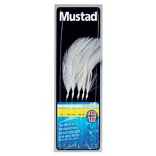 TRAIN DE PLUME MUSTAD SABIKI FEATHER TRACE - BLANC
