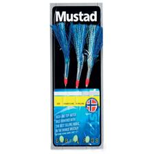 TRAIN DE PLUME MUSTAD SABIKI FLASHER - BLEU
