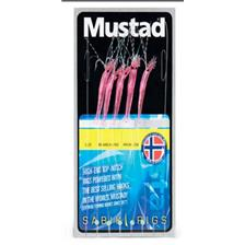TRAIN DE PLUME MUSTAD SABIKI MINI SHRIMP - ROSE FLUO