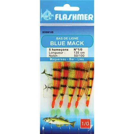 TRAIN DE PLUMES FLASHMER BLUE MACK