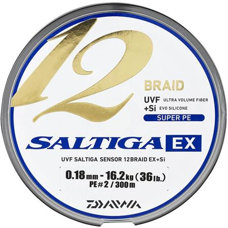 TRECCIA DAIWA SALTIGA 12 BRAID EX - 300M