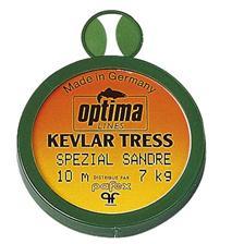 TRECCIA A TERMINALI LUCIOPERCA OTTIMALE KEVLAR TRESS OPTIMA KEVLAR TRESS