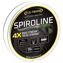 TRENZADO -250M FUN FISHING SPIROLINE