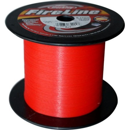 TRENZADO BERKLEY FIRELINE RED BULK - 1800M