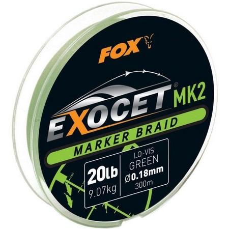 TRENZADO CARPFISHING FOX EXOCET MK2 SPOD BRAIDS 300M - AMARILLO