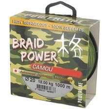 TRENZADO CARPFISHING POWERLINE BRAID POWER CAMOU