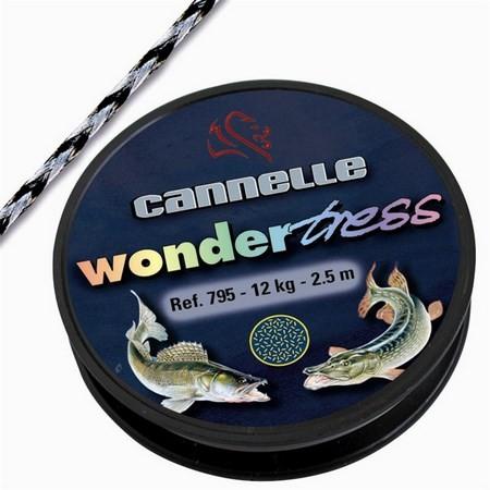 TRESSE A BAS DE LIGNE ACIER CANNELLE WONDERTRESS 795