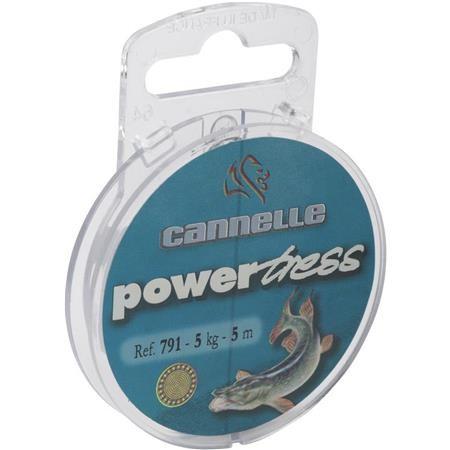 TRESSE A BAS DE LIGNE ACIER INOX CANNELLE POWERTRESS 791
